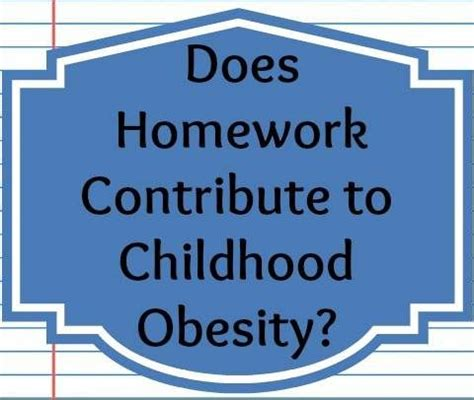 Free research paper on child obesity